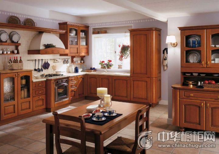 克罗尼橱柜实木橱柜 古典风格橱柜图片