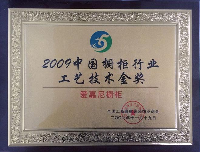 工艺技术金奖