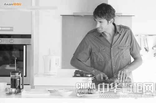 选爱嘉尼整体橱柜  做下一个厨房男神