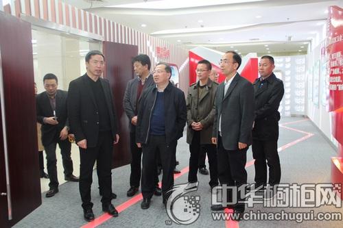 省总工会党组书记、常务副主席杜世源一行来欧意参观调研
