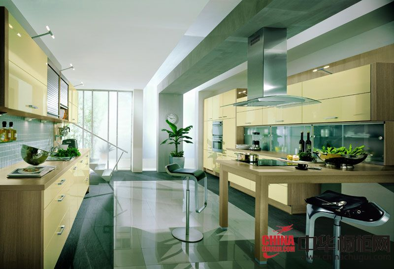 盛特橱柜效果图  厨房装修效果图