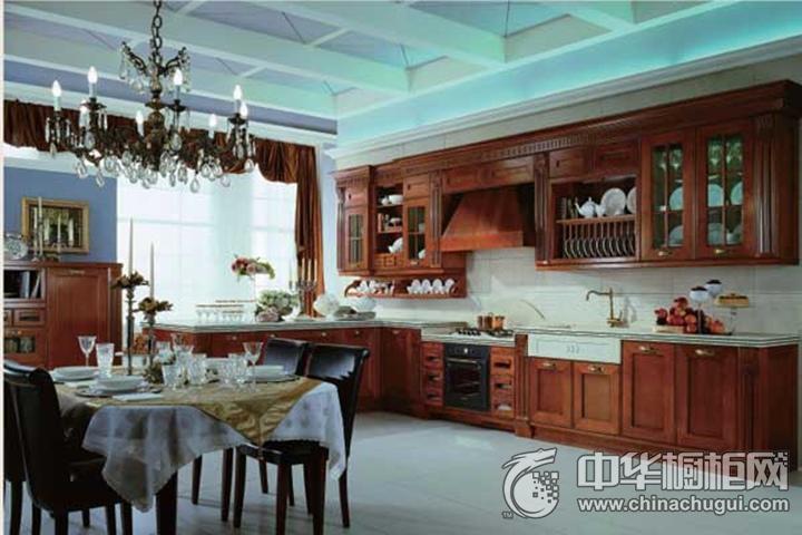 迪凯诺厨柜·衣柜效果图 古典风格橱柜图片