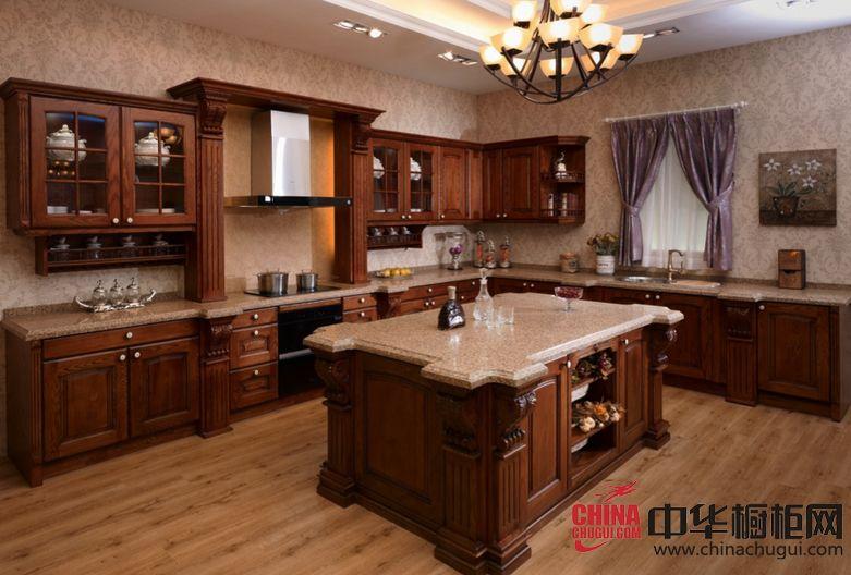 美的智能整体厨房凡尔赛宫 古典风格橱柜图片