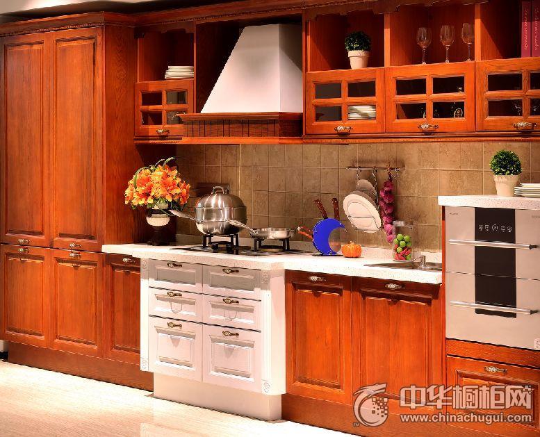 耐惠整体厨房整体橱柜 田园风格橱柜图片