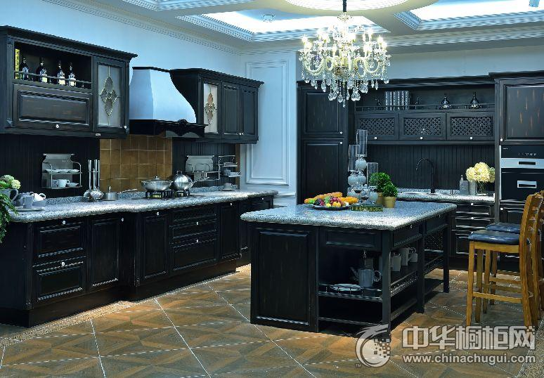 耐惠整体厨房维尔森林 古典风格橱柜图片