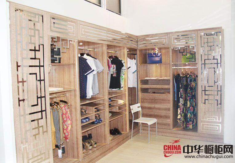拓普尼橱柜广州建博会参展产品 衣柜图片