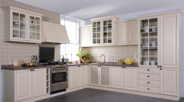 百丽厨柜精致欧式风格厨房橱柜欧式风格橱柜图片
