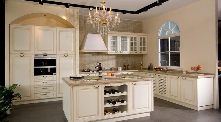百丽厨柜古典欧式整体橱柜欧式风格橱柜图片