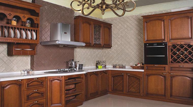 百丽厨柜欧式古典风格厨房橱柜欧式风格橱柜图片
