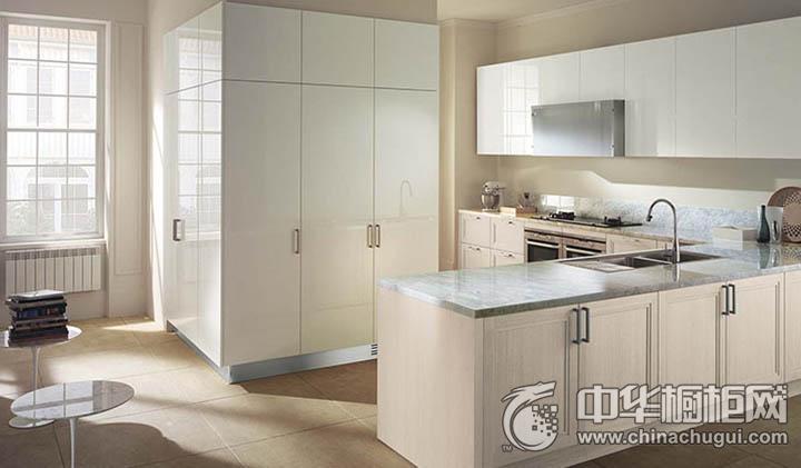 百丽厨柜安格斯 简约风格橱柜图片