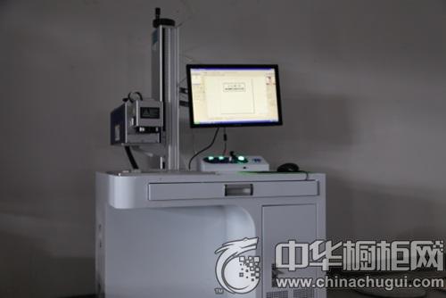 百丽引进最新产品--镭诺捷C02激光打标机