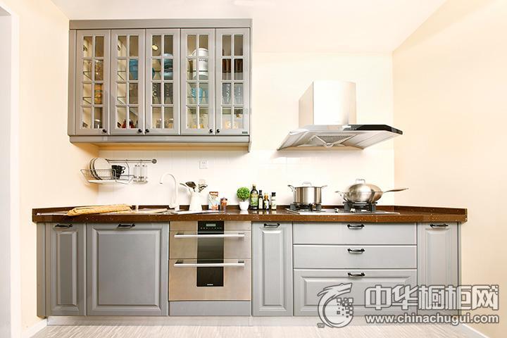 沃根8090全屋定制 整体橱柜系列—北欧风情— 欧式风格橱柜图片