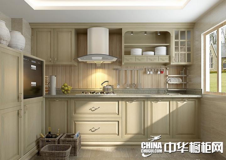 欧铂丽橱柜图片 欧式风格厨房装修效果图