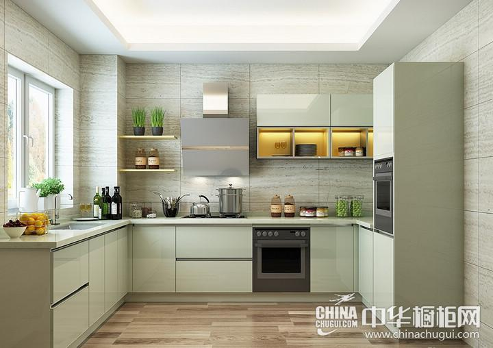 欧铂丽橱柜图片 厨房装修效果图