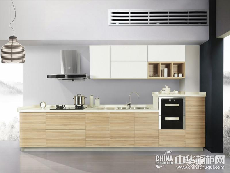 禾田世家厨柜衣柜巴多利诺橡木 简约风格橱柜图片