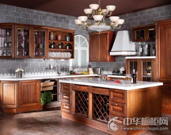 荣耀鼎盛不锈钢橱柜奢华生活 古典风格橱柜图片