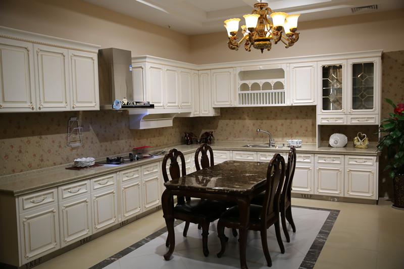 伊克丽菲厨柜不锈钢橱柜欧式风格橱柜图片