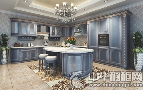 金意厨s-7004实木系列 藏蓝色,与生俱来的高贵