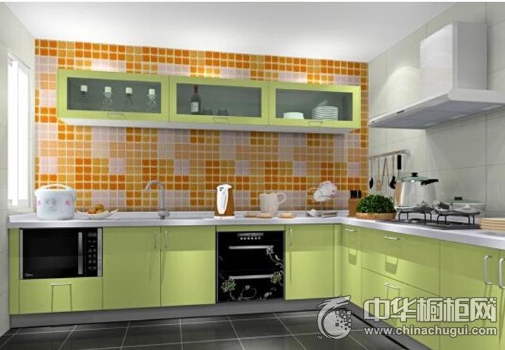 培恩整体厨房效果图 简约风格橱柜图片
