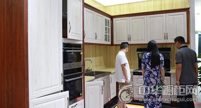 培恩整体厨房效果图 2017广州建博会参展新品