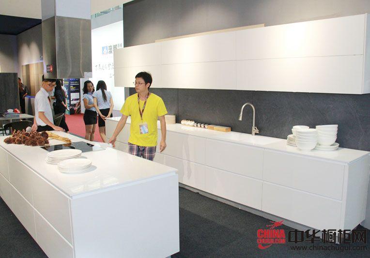 澳都厨柜衣柜2014广州建博会参展产品 简约风格橱柜图片