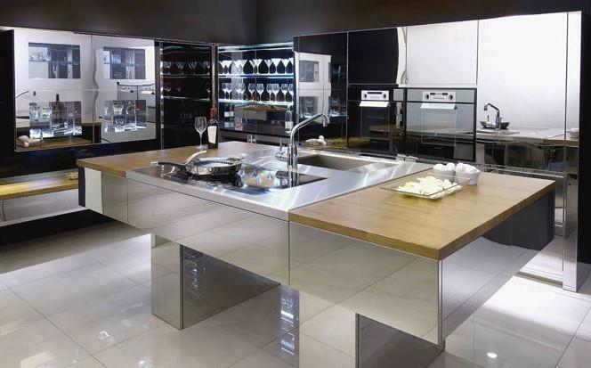 斯沃德德式不锈钢整体厨柜