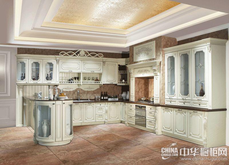 皮阿诺橱柜路易十四 法式风格整体橱柜效果图
