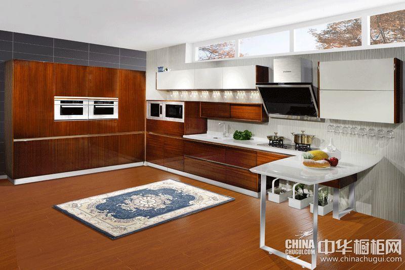皮阿诺橱柜圣莫尼卡 开放式厨房装修效果图