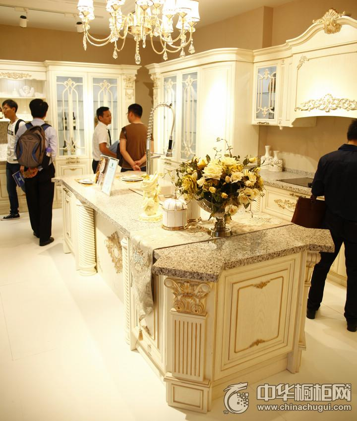 皮阿诺橱柜橱柜效果图 2016年上海厨卫展参展产品欧式风格橱柜图片