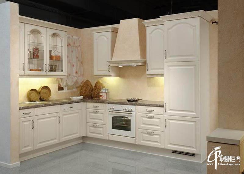 欧式橱柜厨房装修效果图-中华橱柜网