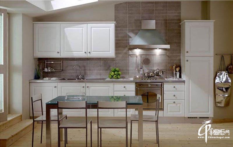 长虹整体厨房家装效果图吸塑板