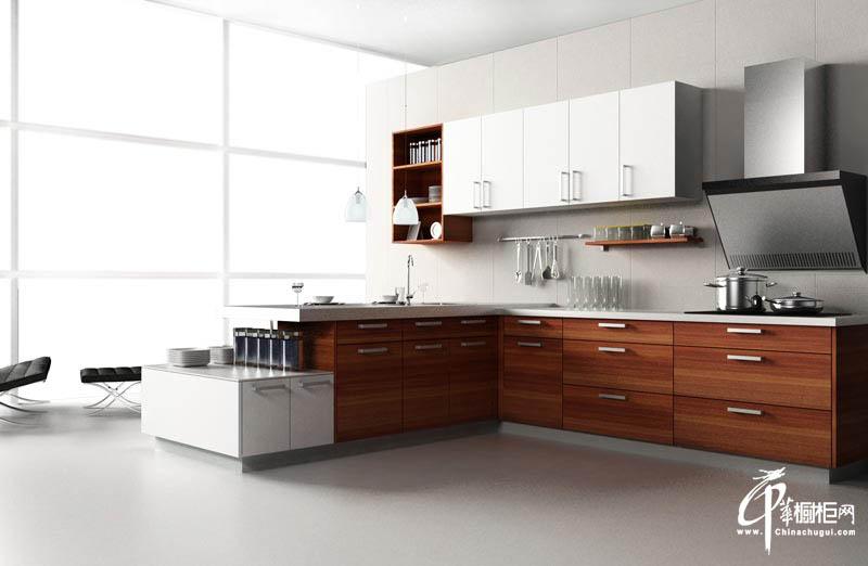 长虹整体厨房家装效果图耐磨板橱柜