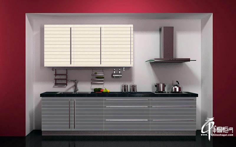 长虹整体厨房厨房装修效果图耐磨板