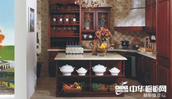 整体橱柜效果图 益有厨柜整体橱柜产品赫斯提亚 古典风格橱柜设计