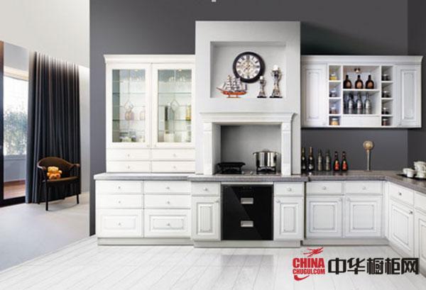 高雅橱柜设计图 捷西橱柜整体橱柜效果图卢浮宫 欧式风格橱柜图片