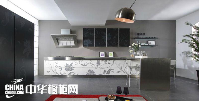 隆森整体橱柜图片 简约风格整体橱柜效果图 不锈钢橱柜装修效果图