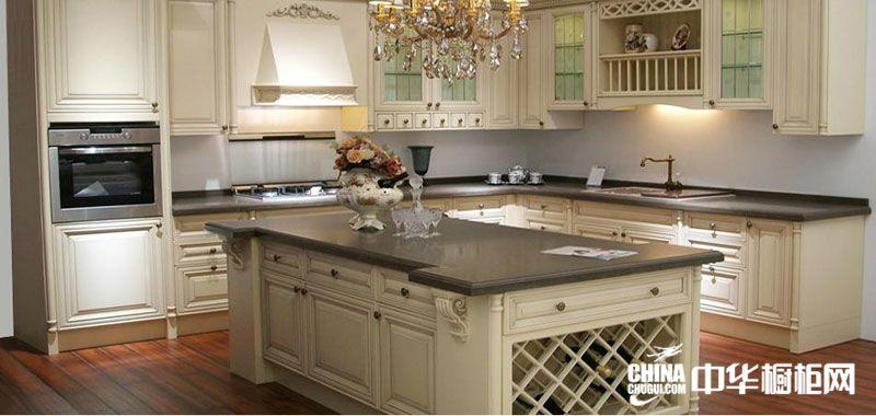 彩虹天厨柜图片欣赏 欧式风格整体橱柜效果图