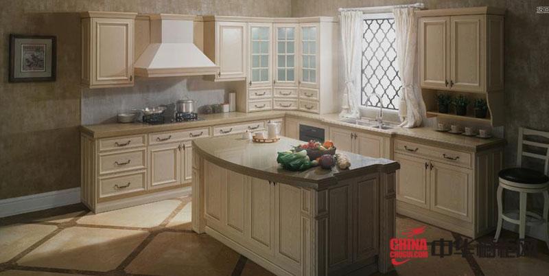 欧式田园风格橱柜设计 欧派橱柜产品斯里兰卡图片