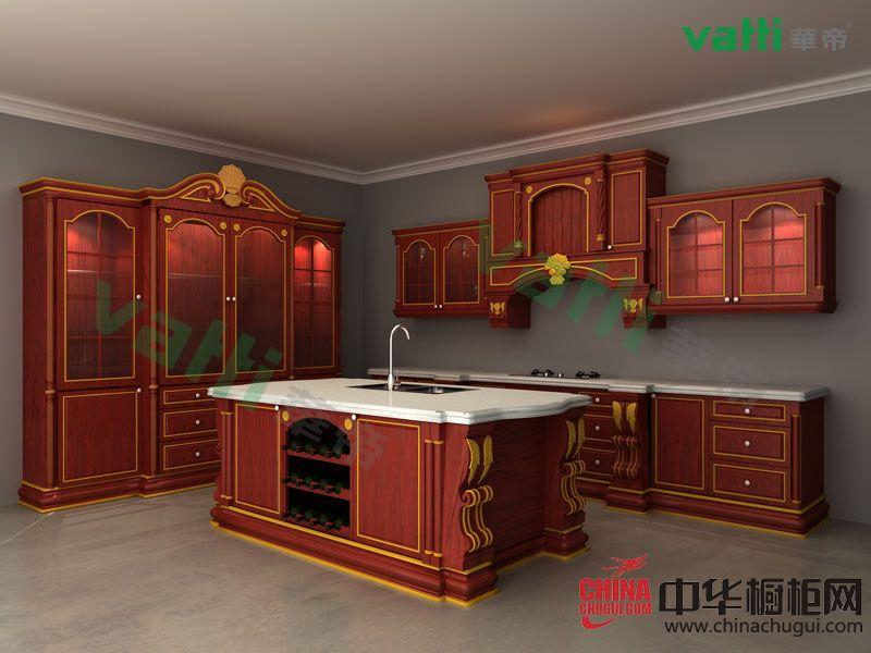 华帝橱柜罗马风情 古典风格橱柜图片
