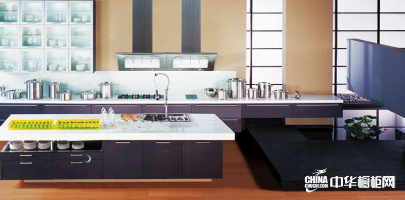 整体橱柜效果图 科宝博洛尼橱柜整体橱柜产品灰橡 现代简约风格橱柜图片
