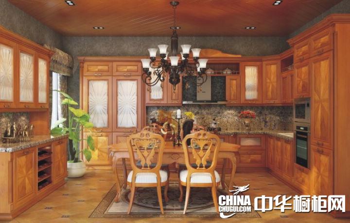 志邦厨柜圣彼得堡古典风格橱柜图片