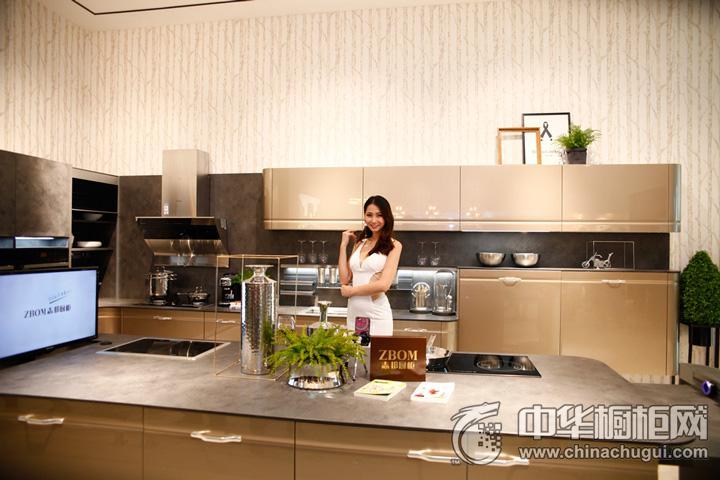 志邦厨柜 2016年中国建博会(广州)参展产品 简约风格橱柜图片