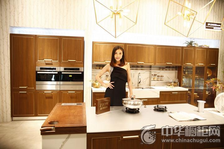 志邦厨柜 2016年中国建博会(广州)参展产品 厨房装修效果图