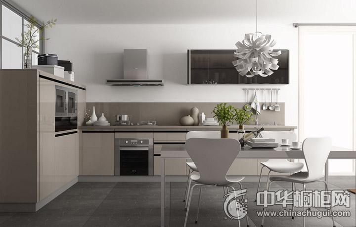 我乐厨柜地平线 简约风格橱柜图片