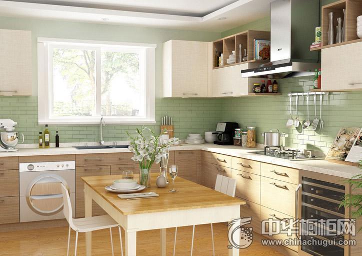 我乐厨柜雕刻时光 田园风格橱柜图片