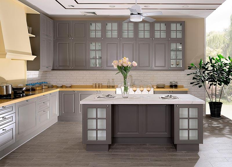 倍特厨柜效果图 简约风格橱柜图片