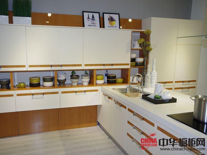 好兆头厨柜第19届上海厨卫展参展产品 现代风格橱柜图片