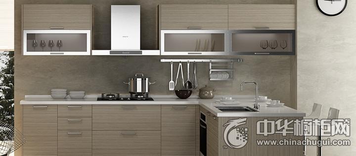 好兆头厨柜效果图 l型橱柜简约风格橱柜图片