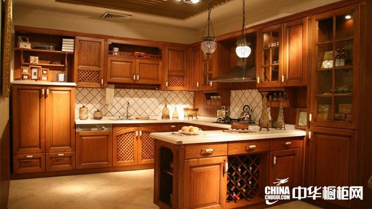 欧艺橱柜欧式橱柜效果图 北欧风情开放式厨房装修效果图