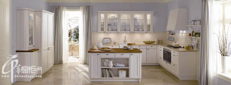 欧艺橱柜-欧式风格整体厨房装修效果图欣赏